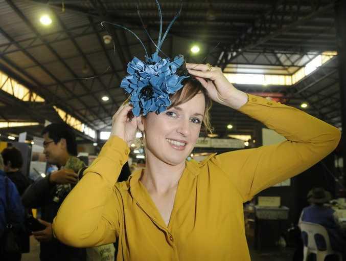 Heritage Bank Toowoomba Royal Show 2014: Milliner Bellinda Haase