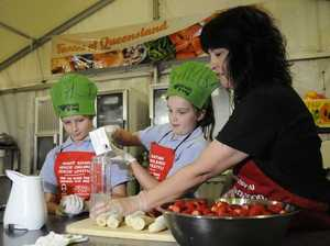 Show kids put forward healthy alternative to takeaway