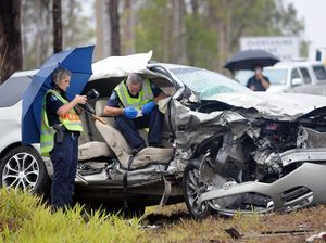 Man from Bruce Hwy crash is stable in Nambour ICU
