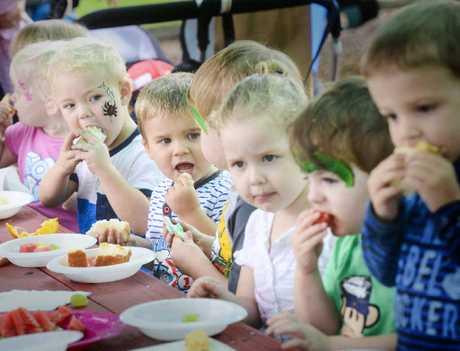 It's playgroup at Maridahdi Early Childhood Community.