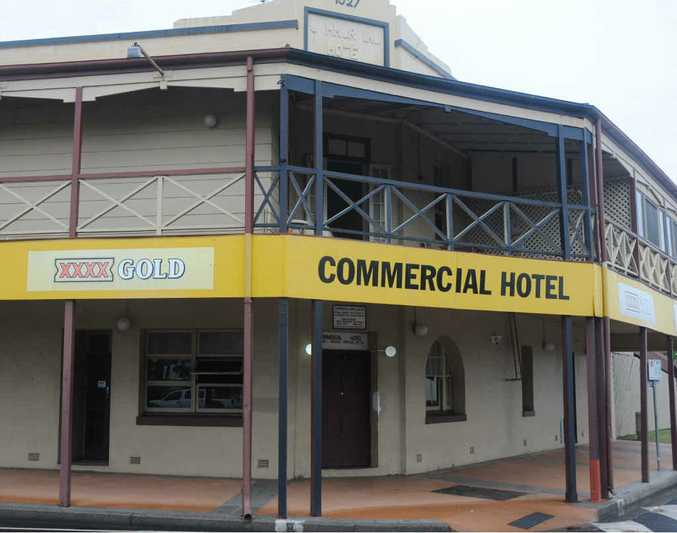 TRAGEDY SITE: Ralph Zessin died in 2012 after falling out of Gatton's Commercial Hotel.