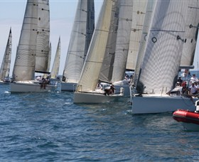 Two southern raiders have joined the fleet for January's Pittwater to Coffs Harbour 226nm warm water classic.