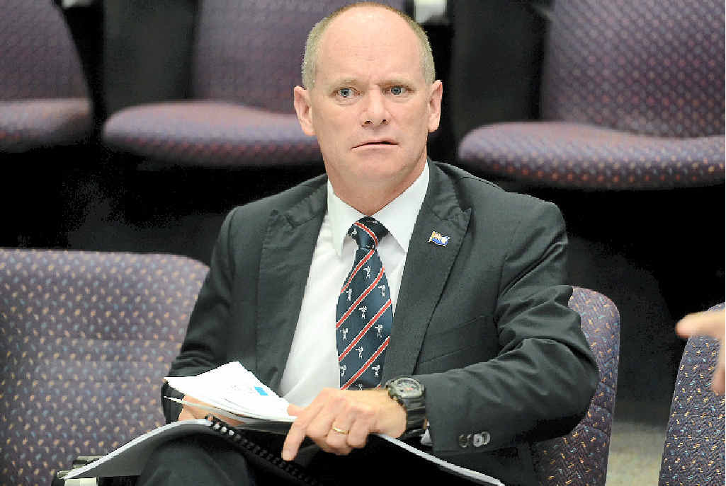AUSTRALIA'S MOST EXPENSIVE PREMIER: Premier Campbell Newman now earns $379,562, a jump of $70,000.