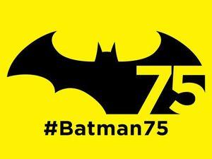 The Dark Knight celebrates 75th anniversary
