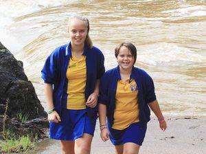 Hervey Bay had 10 months worth of rain in one night