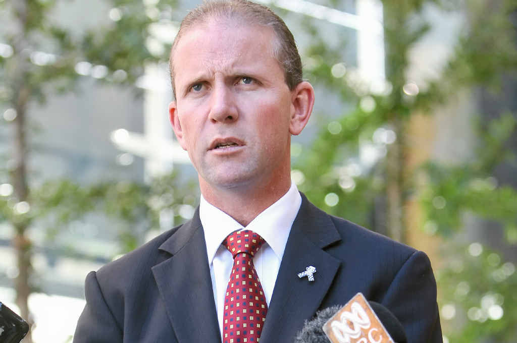 CHANGE NOW: Queensland Police Union general president Ian Leavers wants a reversal of the no-pursuit policy after an officer was hit by a car.