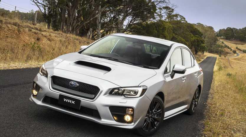 The new Subaru WRX.