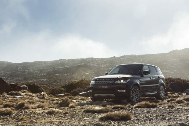 The new Range Rover Sport.
