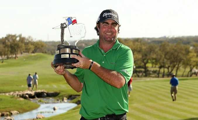 Steven Bowditch has won the US PGA Tour's rich Valero Texas Pro to earn a berth at the US Masters, a two-year exemption on the tour and a $1.11 million pay day.