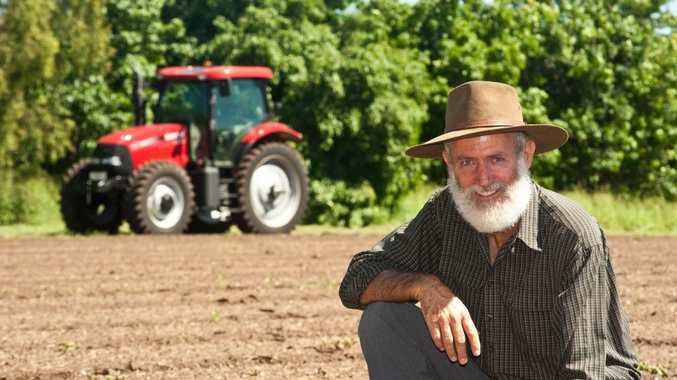 Rob Bauer of Bauer's Organic Farm. The farm has launched a paddock-to-plate online shop. Photo: LucyRC Photography
