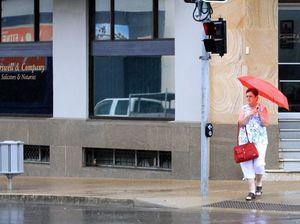 Better not put the umbrella away just yet