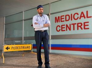 Burst pipe floods Gladstone medical centre with raw sewage