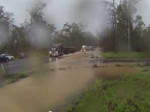 Flash flooding near Tiaro