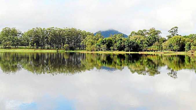 TOP UP: Noosa's water supply with Lake Macdonald (pictured) after the recent heavy rain.