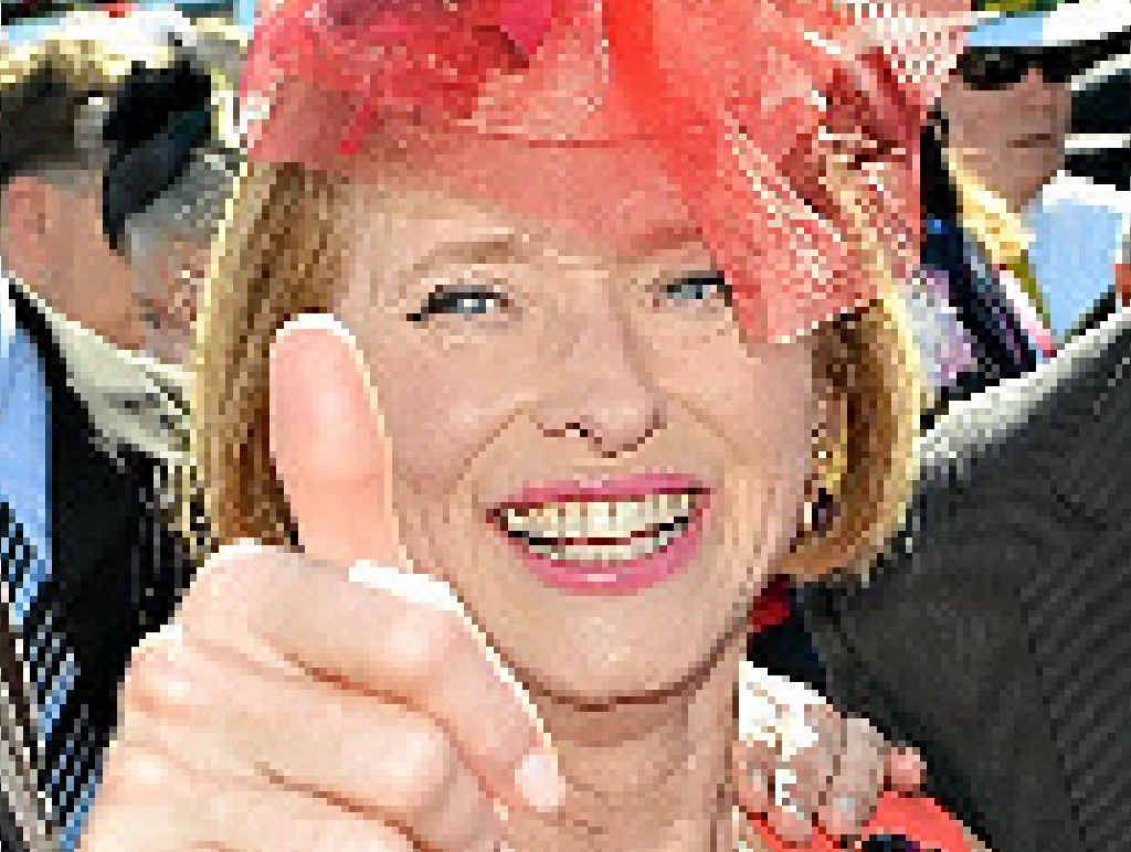 GOLDEN GIRL: Trainer Gai Waterhouse will hope for more success in Saturday's Golden Slipper.