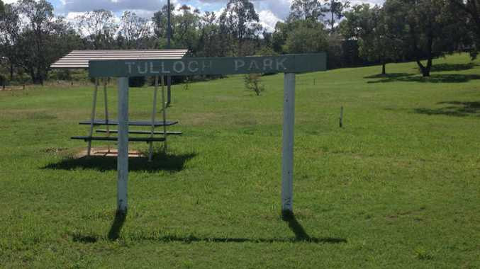 NO LONGER USED, SAYS COUNCIL: Tulloch Park on Grafton St is one of a number to be leased out or sold off.