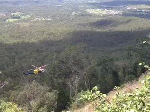 Rescue of elderly man from bushland