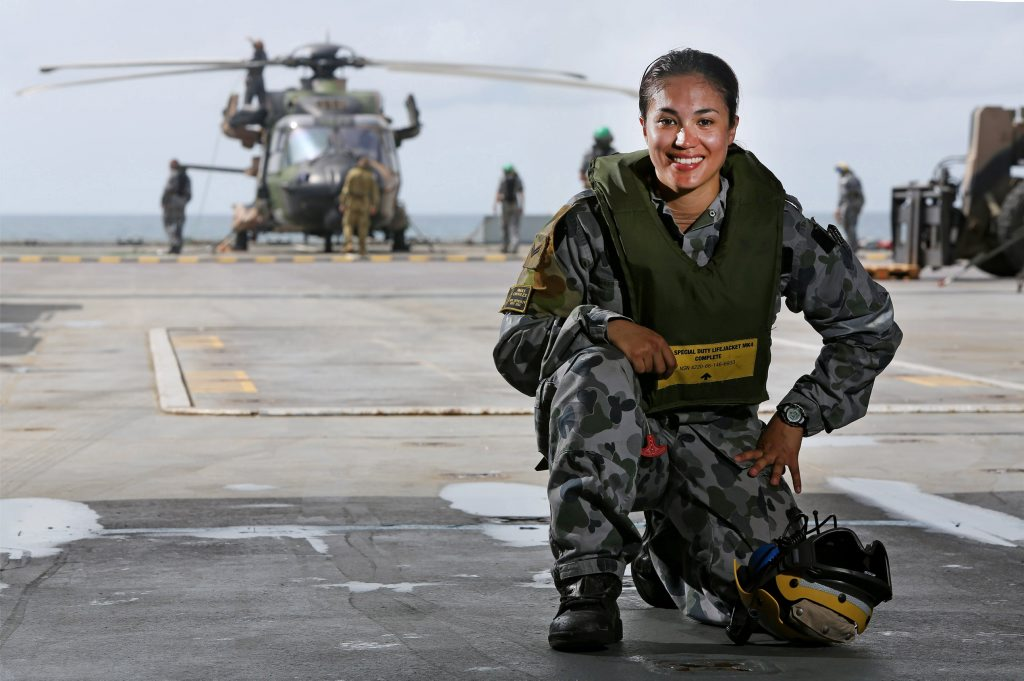 The Navy is an exciting career choice for women.