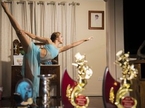 Graceful young dancer Elle'ana is devoted to her craft
