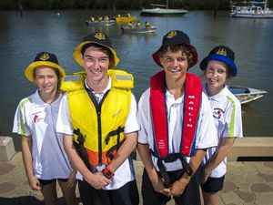 Gladstone students take part in new harbour health program