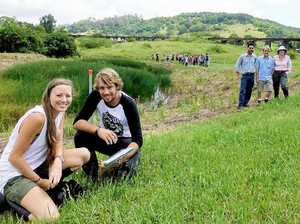 $180,000 wetland developed to clean North Lismore creek