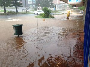Hoons cause more damage that torrential rain last week