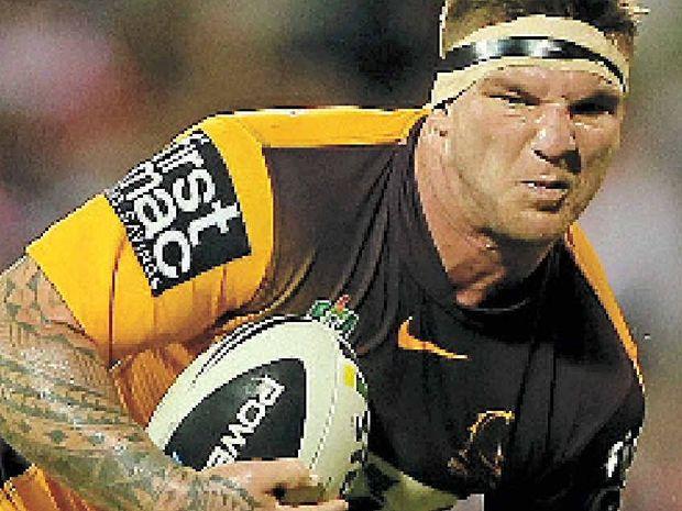 Canberra fullback Anthony Milford.
