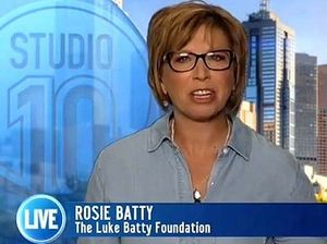 Luke Batty's mum blasts TV host over abuse comments
