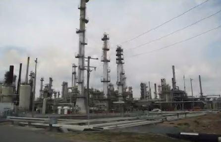 BP's Bulwer Island Refinery in Brisbane.