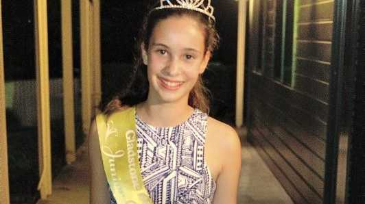 Former Junior Queen winner Miss Price has high hopes for her future in acting.