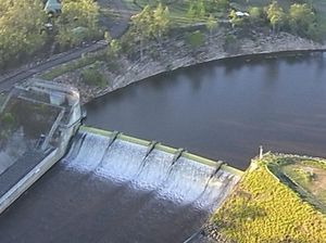 Dams brimful with enough water for two years
