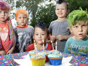 Kids go crazy with colour to aid Blaise