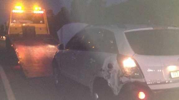 Traffic crash on Benaraby-Gladstone Rd.
