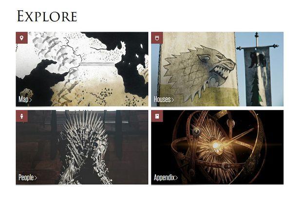 HBO helps GoT fans explore Westeros.