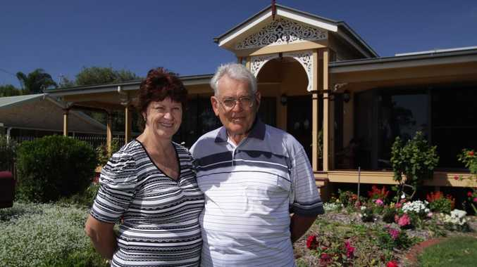 Lesley and Jack Frost, at their Point Vernon home, won a top gong in the Fraser Coast Heritage awards last year.