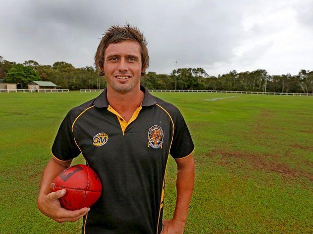 Star recruit Jarrad Ruddock from the Tweed Coast Tigers.