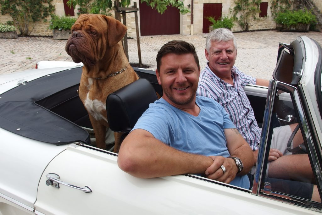 Manu Feildel in a scene from My France With Manu.