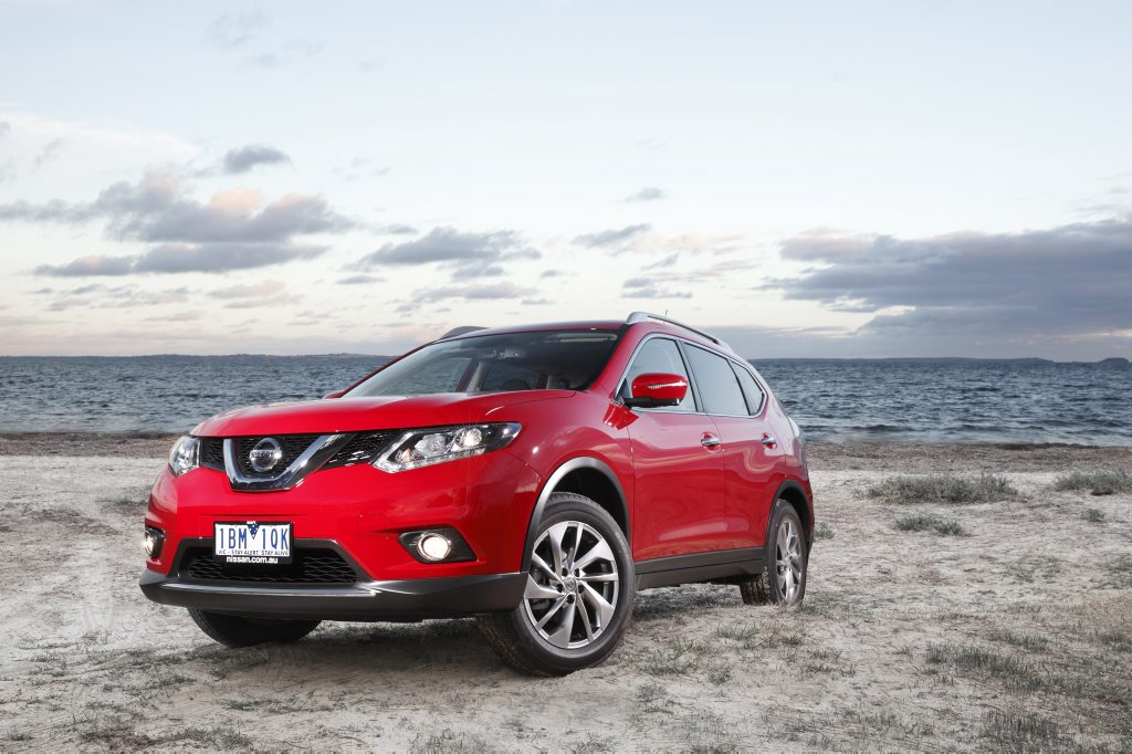 The Nissan X-Trail.