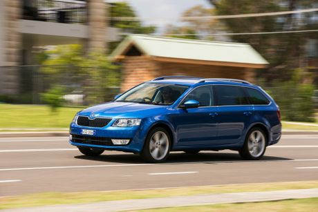 The Skoda Octavia wagon.