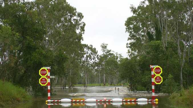 Flood gates designed by David Bagnall at Miriamvale Photo: Contributed