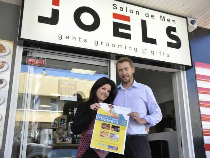 Susan and Joel Watson from Joels Salon de Men will open their doors especially for the markets.