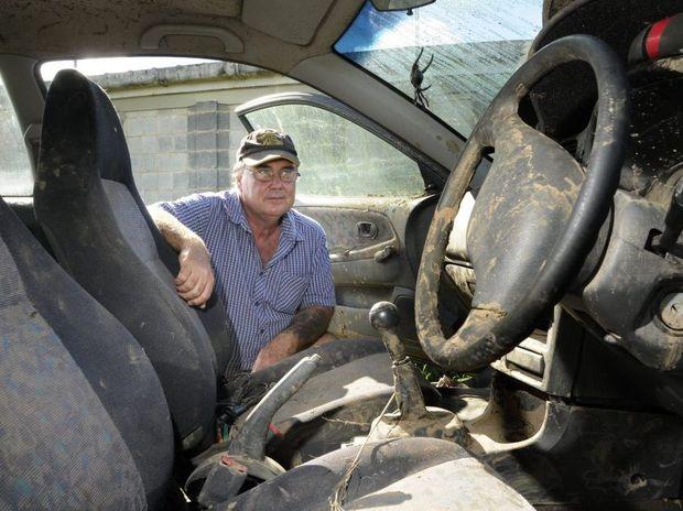 Greg Hunter was swept off a causeway last week.