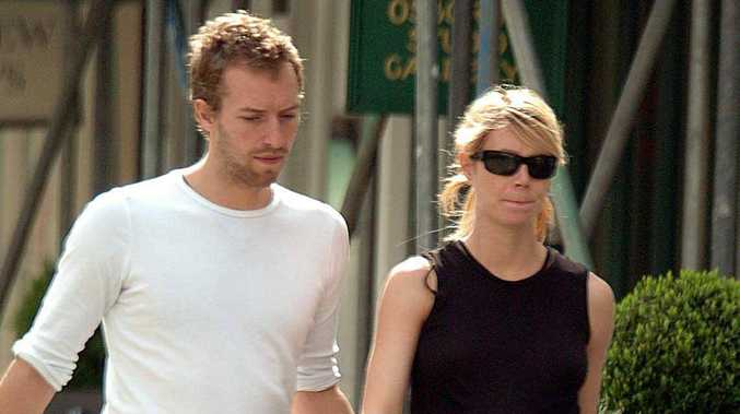 A file picture of Gwyneth Paltrow and Chris Martin.