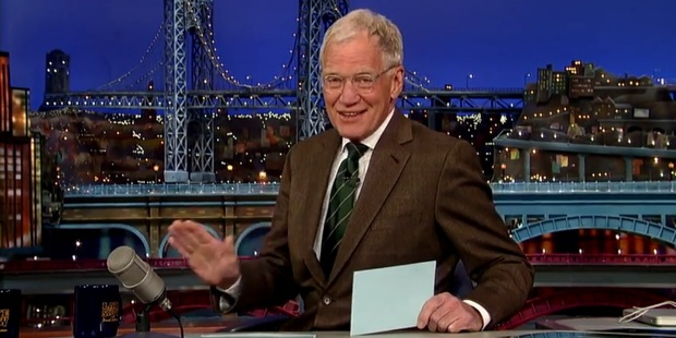 David Letterman is set to retire in 2015.