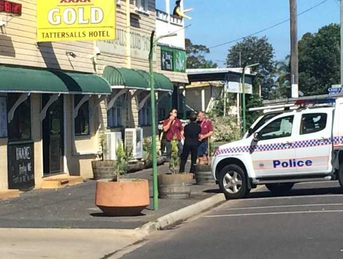 Police are investigating the theft of a large amount of cash from a safe at the Tattersalls Club Hotel in Pittsworth.