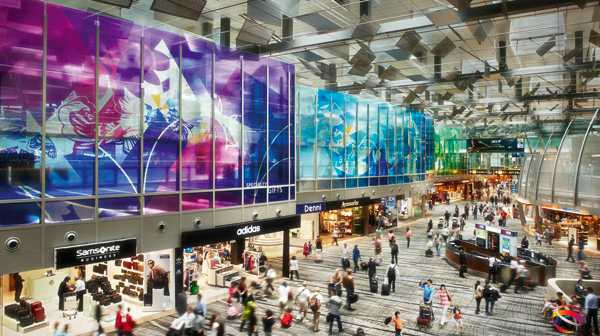 Futuristic: Singapore's Changi Airport