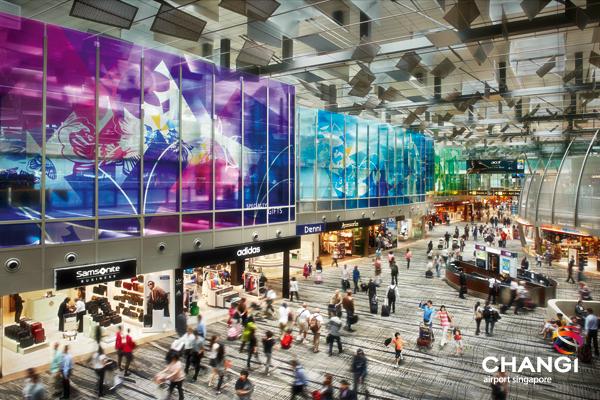Futuristic: Singapore's Changi Airport
