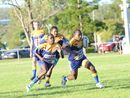 The Mustangs were electrifying in their dismantling of Gayndah Gladiators on the weekend