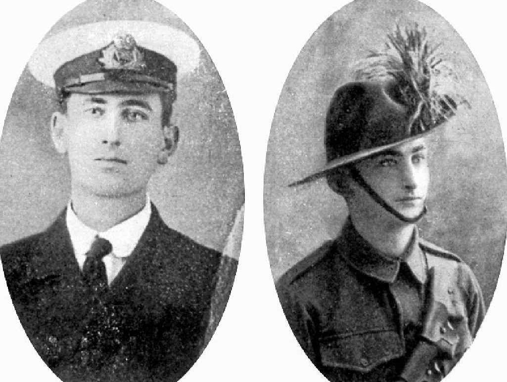 BROTHERS: Edison Gordon and Robert Percival Miller.