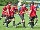 Coffs United do another victory dance in the clash with Orara Valley and it seems certain there will be many more before 2014 is done and dusted.